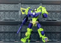Transformers News: More Images of X-Transbots XP-1 Encore Devastator Add-On Kit