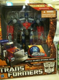 Transformers News: Hunt For The Decepticons Battle Blades Optimus Prime Released in Singapore