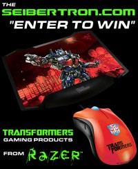 "Transformers News: The Seibertron.com ""Enter To Win"" Transformers Gaming Products from Razer"