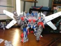 Transformers News: Toy Images of Takara DOTM DA-15 Jetwing Optimus Prime