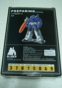 Transformers News: CHMS Xtransbots Glider Packaging Teases Galvatron