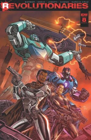 Transformers News: Revolutionaries #8 iTunes Preview