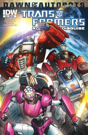 Transformers News: IDW Transformers: Robots in Disgui