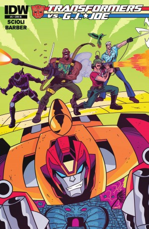 Transformers News: IDW Transformers vs. G.I. Joe #5 Review