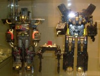 Transformers News: Lucky Draw figures shown off at Auto Assembly '09