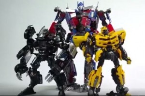 Video Showing Transformation for Transformers Movie Masterpiece MPM 05 Barricade