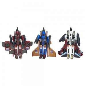 Transformers News: First Official Stock Images of Transformers Platinum Edition Seeker Squadron 3-Pack