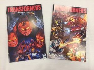 Transformers News: Review - #BotCon16 FunPub / IDW Dawn Of The Predacus Comic
