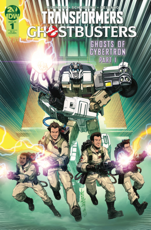 Transformers News: IDW Transformers x Ghostbusters #1 Preview and More Covers