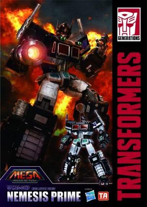 Transformers News: Toys Alliance Mega Action Nemesis Prime Revealed