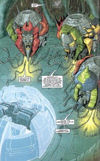Unpublished Transformers War Within: Age of Wrath #4 Pages