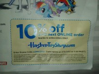 SDCC 2012 HTS Promo Code: 10% Off
