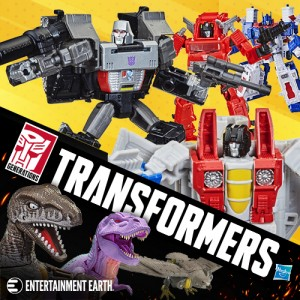 Entertainment Earth Sponsor News: New Transformers Kingdom Pre-Orders and more!