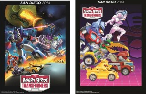 Transformers News: SDCC 2014 Coverage - Angry Birds Transformers Exclusive Posters