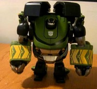 Transformers News: Animated Voyager Workzone Bulkhead Video Review
