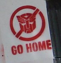 Transformers News: Possible TF3 Plot point revealed: Autobots Go Home!
