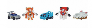 Transformers News: Official Images: Transformers Bot Shots Protectobots 5-Pack