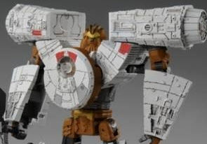 Robot Modes Revealed for Takara's Star Wars  Powered by Transformers Millenium Falcon