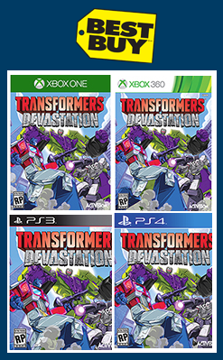 Transformers News: Activision's Transformers Devastation: Release Date, Consoles, Characters, and More