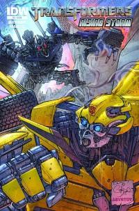 Transformers News: Transformers Rising Storm #2 Cover Revealed