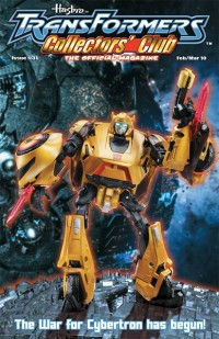 Transformers News: Transformers Collectors Club Issue 31, free for the public.