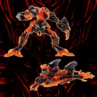 Transformers News: Wonderfest Exclusive The Fallen 'Blazing Edition': Re-released