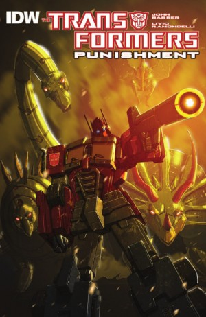 IDW Publishing Transformers Punishment One-Shot Full Preview