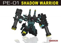 Transformers News: PE-01 Shadow Warrior Video Review