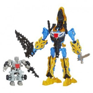 Transformers News: Transformers: Age of Extinction ConstructBots Silver Knight Optimus Prime and Grimlock Exclusive Set at Target.com