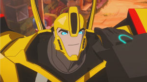 Transformers: Robots In Disguise Preview: Bumblebee's Night Off