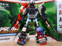 Transformers News: Kre-o Combiners Defensor In-Hand Images
