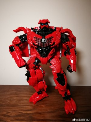 In Hand Images - Hasbro China JingDong Exclusive Generations JD Red Knight