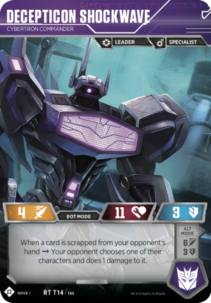 Transformers Trading Card Game Set Spoiler List and Details