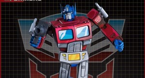 Pop Culture Shock Optimus Prime Statue Fully Revealed