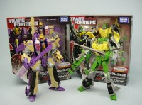 Transformers News: In-Hand Images: Takara Tomy Transformers Generations Springer, Blitzwing, Metroplex, & Optimus Prime and Bumblebee Set