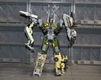 Transformers News: New Looks at Power Core Combiners - Combaticons, Smolder and Searchlight!