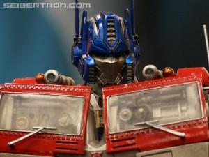 Transformers News: SDCC 2016: Transformers Prime 1 Studios Optimus Prime Gallery AND Video #SDCC #HasbroSDCC
