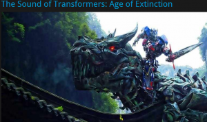 Transformers News: The Sound of Transformers: Age of Extinction Featurette