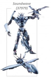 Transformers News: Transformers Prime Robots in Disguise Soundwave and Laserbeak