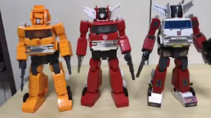Video Review for Takara Tomy Transformers Masterpiece MP-37 Artfire