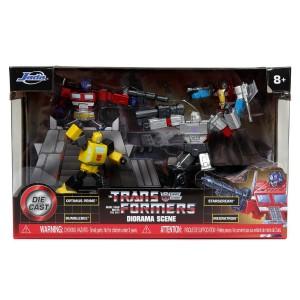 Jada Toys Reveals Transformers Optimus Prime, Bumblebee, and 1986 Movie Metalfigs