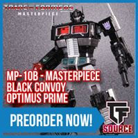 TFsource Weekend Update! DNA Susanoo, FT Spindrift, LG-EX Black Convoy, FH Flypro, MP-10B & more!