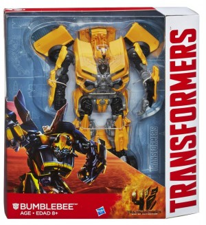 Transformers News: Official Images  - Transformers: Age of Extinction Leader Class Bumblebee