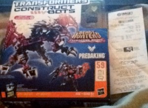 Transformers News: Target Exclusive Construct-Bots Predaking Sighted at Retail