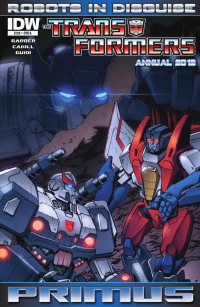 Transformers News: Transformers: Robots in Disguise Annual 2012 Preview