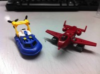 MakeToys Bomber & Hover In-Hand Images