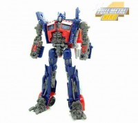 Transformers News: More Transformers Movie Trilogy Series Deluxe Optimus Prime with Trailer Images