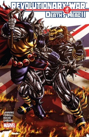 Transformers News: Revolutionary War: Death's Head II Preview