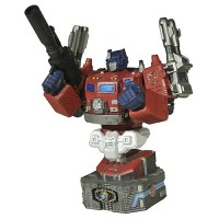 Transformers News: Diamond Select Sunstorm & Power Master Optimus Prime busts cancelled?