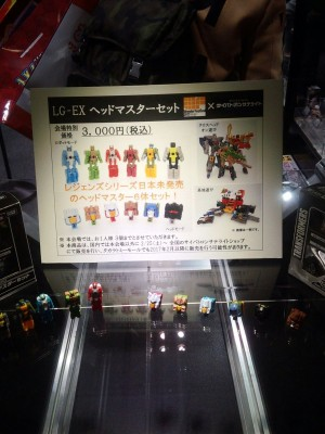 Transformers News: Wonderfest 2017 - LG-EX Headmaster Images #tfワンフェス17w
